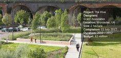The Sensational Hive Project by World Renowned Grant Associates - Landscape Architects Network