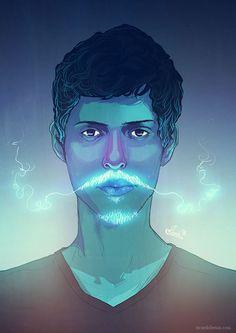Mustache Portraits from Ricardo Bessa