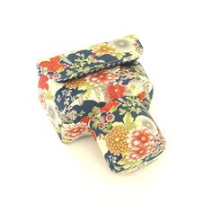 Custom DSLR Camera Case Bag Colorful Flowers Made to by PessyLee, $45.00