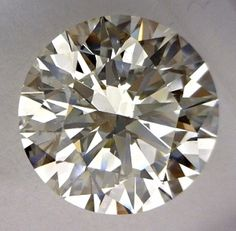 3.33-Carat Round Cut Diamond    This Excellent-cut I-color, and VS2-clarity diamond comes accompanied by a diamond grading report from GIA  $49999.95