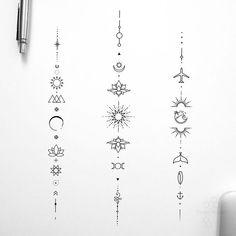 Finger Tattoos, Body Art Tattoos, Tatoos, Lottus Tattoo, Small Back Tattoos, Horoscope Tattoos, Spine Tattoos For Women, Unalome Tattoo, Muster Tattoos