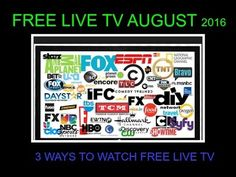WATCH FREE LIVE TV AND CABLE CHANNELS ON KODI PART 3 AUGUST 2016
