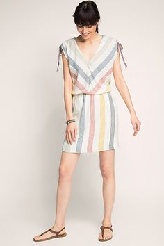 EDC / Soft woven dress, 100% cotton