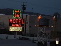 """ Route 66 Motel "" in Barstow California  http://route66jp.info Route 66 blog ; http://2441.blog54.fc2.com https://www.facebook.com/groups/529713950495809/"