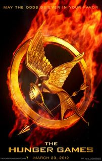 """""""The Hunger Games""""(2012) """"Set in a future where the Capitol selects a boy and girl from the twelve districts to fight to the death on live television, Katniss Everdeen volunteers to take her younger sister's place for the latest match."""""""