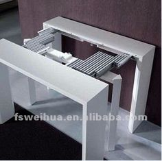 48mm width adjustable extension folding table slide