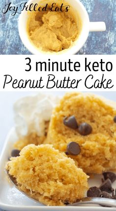 In the mood for something amazing? Try out this Keto Peanut Butter Mug Cake recipe. It can be made in just a couple of minutes, and it's perfect for curing that sweet tooth. Soft, delicious cake with an incredible texture and peanut butter flavor is just moments away! It's truly as easy as you can get, but the result is heavenly!You don't have to worry about it because it's also gluten-free, grain-free, sugar-free, THM S, and low carb too.