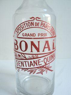 Exposition De Paris 1889 Vintage French Bonal Gentiane Quina Bottle by La Belle Epoque Deco on Gourmly
