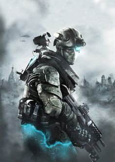 Beautiful Tom Clancy's Ghost Recon: Future Soldier artwork uploaded by IGC - Poster Special Forces Gear, Military Special Forces, Fantasy Armor, Sci Fi Fantasy, Ghost Recon Wildlands Ps4, Military Gear, Military Equipment, Future Soldier, Futuristic Art