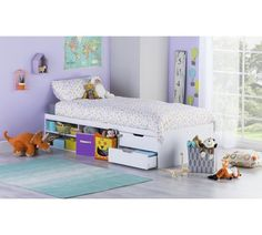 Buy Argos Home Malibu White Cabin Bed Frame Box Room Beds, White Kids Bed, White Cabin, Wooden Cabins, Childrens Beds, White Desks, White Bedding, Girls Bedroom, Bedroom Ideas