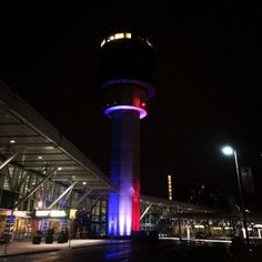 Vancouver International Airport Control Tower in Richmond, British Columbia, Canada ~Happening in BC