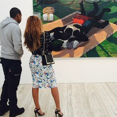 Instagrams of the Art World: Even More Bey and Jay Edition | In the Air: Art News & Gossip | ARTINFO.com
