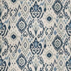 This is a beautiful blue ikat drapery fabric by Trend Fabrics. This fabric is perfect for any home decorating project.Minimum 1 yard order. Please allow 1 week from order date to ship.Exceeds 36,000 Double Rubsv142AREF