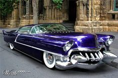 """Cadillac...now those are huge dagmars...look up dagmar...funny story on how those larger bumper """"extensions"""" got their name"""