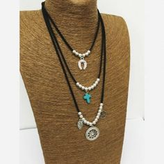 14446453_618990538278588_2112407322_o Turquoise Necklace, Beaded Necklace, Necklaces, Jewelries, Leather Jewelry, Jewerly, Collars, Chokers, Fashion Jewelry