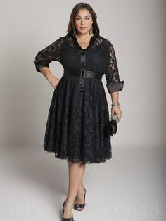 Long Sleeve Plus Size Dresses Big Size Long Dresses for Beautiful Plus Size Women