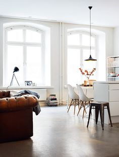 """styled by Anna Malmgren and photographed by Patric Johansson for """"Plaza Interior"""" via 79 Ideas"""
