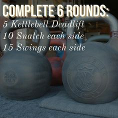 Here is how to start the new year, welcome 2018! If you have multiple bells, use a heavier bell for the Deadlifts and weights that will challenge you on the Snatches and Swings by round 4-5. Get more workouts like this in your inbox each week through the link in our bio! #kettlebellworkout #kettlebellroutine #kettlebelltraining #outdoorworkout #homeworkout #workoutathome #crossfit #personaltrainer #homegym #garagegym #strongfirst #simpleandsinister #gymowner ...