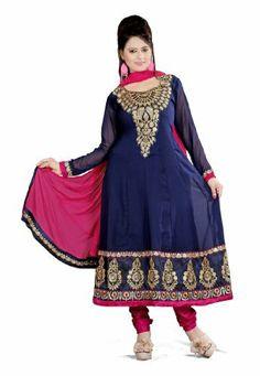 Fabdeal Indian Designer Georgette Navy Blue Embroidered Salwar Fabdeal, http://www.amazon.de/dp/B00IRB6SI2/ref=cm_sw_r_pi_dp_Wy7otb0YQYG6K