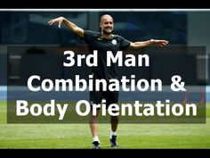 Third Man Combination and Body Orientation Football Coaching Drills, Soccer Training Drills, Soccer Drills, Football Is Life, Sport Football, Soccer Positions, Barcelona Training, Football Tactics, Soccer Practice