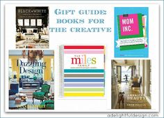 Gift Guide: books for the creative
