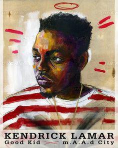 Kendrick Lamar Poster by JonSwartz on CreativeAllies.com