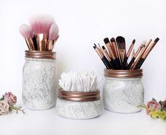Marmor Make-up Pinselhalter, Roségold Make-up Lagerung, Schreibtisch . - Marmor Make-up Pinselhalter, Roségold Make-up Lagerung, Schreibtisch … Marmor Make-u -
