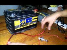 Como cargar Bateria de Auto Sin Cargador - YouTube