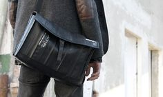 All bags are handmade from upcycled materials.  Each bag is unique, with highquality finish, functional and eye-catching  product which also respect the environment.
