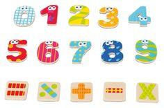 4 sets complets de #chiffres et 3 sets de signes mathématiques pour poser ses premières opérations! #lire #écrire #compter