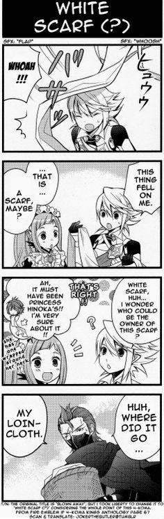 Fire Emblem Fates Comic- Corrin, Felicia and Saizo
