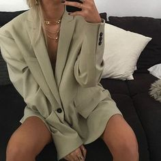 Looks Street Style, Looks Style, My Style, Mode Outfits, Fashion Outfits, Womens Fashion, Fashion Trends, Travel Outfits, Blazer Outfits