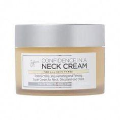 IT Cosmetics Confidence in a Neck Cream #AntiAgingMask Anti Aging Night Cream, Aging Cream, Anti Aging Mask, Anti Aging Skin Care, Reverse Aging, Neck Cream, Skin Care Treatments, Confidence, Cosmetics