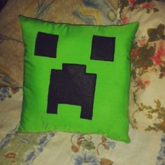 Minecraft pillow Made by me