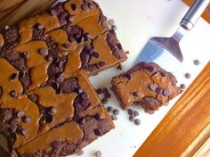 Food Fitness by Paige: Peanut Butter Swirl Chip Brownies