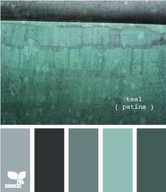 bathroom color schemes pinterest | Bathroom Color Scheme via Design Seeds