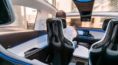 """At the Paris Motor Show, Mercedes-Benz presented its new product brand for electric mobility: EQ. The name EQ stands for """"Electric Intell. Mercedes Benz, E Mobility, Auto Motor Sport, Honda Odyssey, Benz S, Thomas The Train, Automotive Design, Electric Cars, Interiors"""