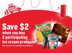 Save $2.00 on Fruttare, Magnum & Ben & Jerry's ice cream at Giant.  Enter to win a $150.00 Giant gift card from forthemommas.com.  Copy this link for full details and rules. http://forthemommas.com/store-deals/giant-food-store/ice-cream-summer-joy-giant-summerofjoy #SummerOfJoy #Giantfoodstores #freebies #coupons