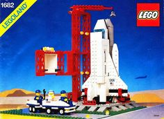 LEGO 1682-1: Space Shuttle Launch | Brickset: LEGO set guide and database