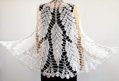 Crochet shawl pattern Wedding shawl Wrap shawls by etty2504