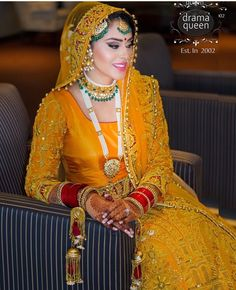 Yellow bride