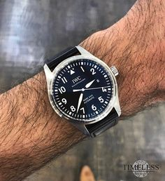 REPOST!!! The beautiful IWC Mark XVIII. 40mm. Stop by and check it out repost | credit: ID @timelessluxurywatches (Instagram)