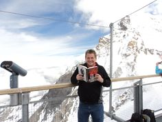 Phil - on the Jungfrauloch in Switzerland 11,715 ft. above sea level