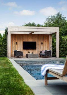 Pergola Ideas Patio Gardens - - How To Build A Pergola With Roof - Pool House Designs, Swimming Pool Designs, Pergola Designs, Pergola Ideas, Pergola Plans, Swimming Pools, Backyard Gazebo, Pergola Patio, Iron Pergola