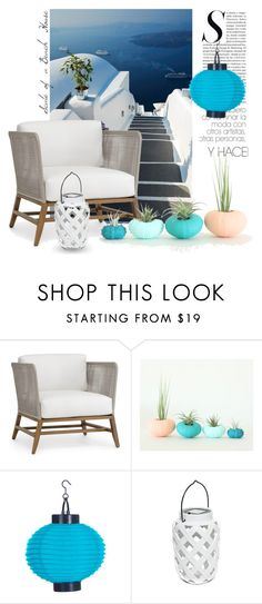 """SCALE"" by tiziana-melera ❤ liked on Polyvore featuring interior, interiors, interior design, home, home decor, interior decorating and Palecek"