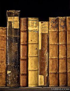 Beautiful old books.