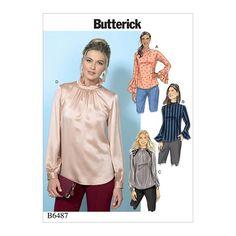 top, Butterick 6487 | 32 - 40