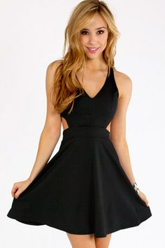 Cut Out V-Tank Skater Dress $52  http://m.tobi.com/product/48392-tobi-cut-out-v-tank-skater-dress?color_id=64009_medium=email_source=new_campaign=2013-07-10