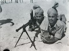 Commonwealth soldiers in WW2 in North Africa theater