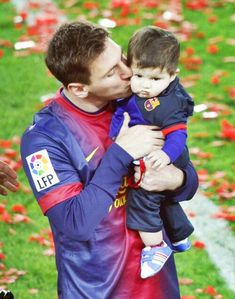 Lionel messi and thiago messi